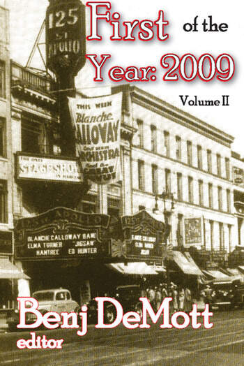First of the Year: 2009 Volume II book cover