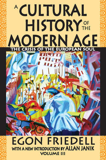 A Cultural History of the Modern Age The Crisis of the European Soul book cover