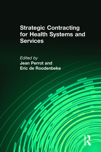 Strategic Contracting for Health Systems and Services book cover