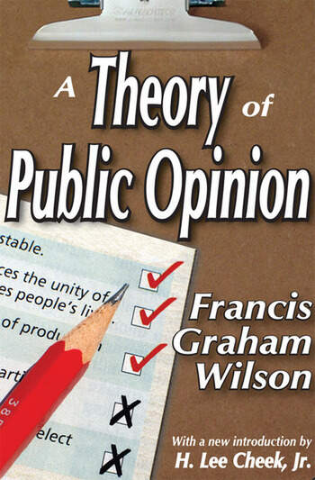A Theory of Public Opinion book cover