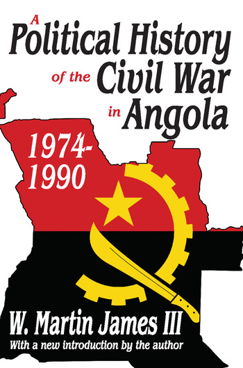 A Political History of the Civil War in Angola, 1974-1990 book cover