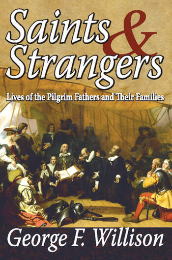 Saints and Strangers Lives of the Pilgrim Fathers and Their Families book cover