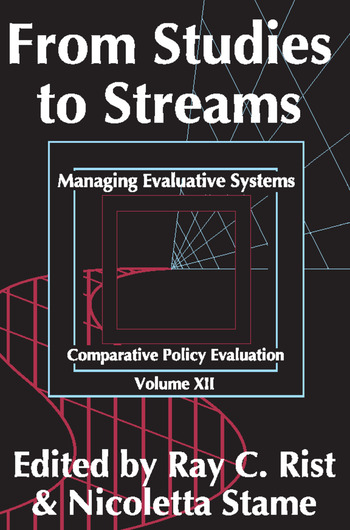 From Studies to Streams Managing Evaluative Systems book cover