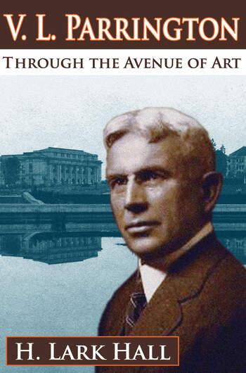 V. L. Parrington Through the Avenue of Art book cover