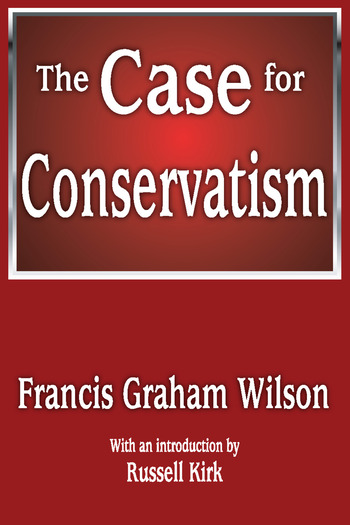 The Case for Conservatism book cover