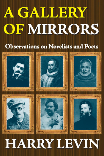 A Gallery of Mirrors Observations on Novelists and Poets book cover