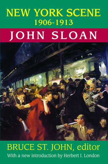 New York Scene 1906-1913 John Sloan book cover