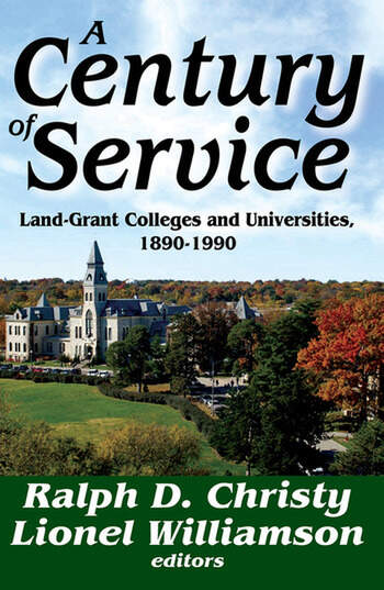 A Century of Service Land-Grant Colleges and Universities, 1890-1900 book cover