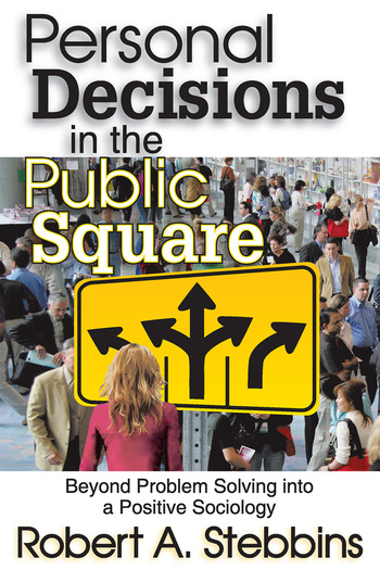 Personal Decisions in the Public Square book cover