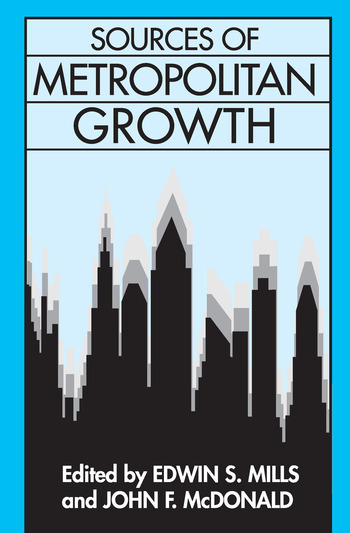 Sources of Metropolitan Growth book cover