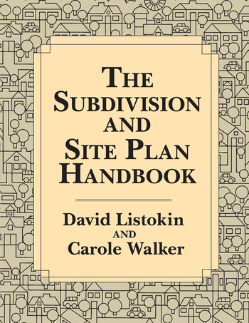 The Subdivision and Site Plan Handbook book cover