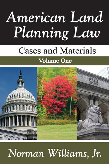 American Land Planning Law Case and Materials, Volume 1 book cover
