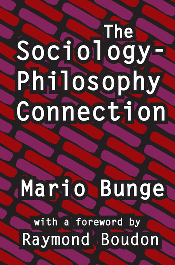 The Sociology-Philosophy Connection book cover