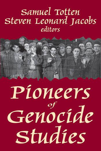 Pioneers of Genocide Studies book cover