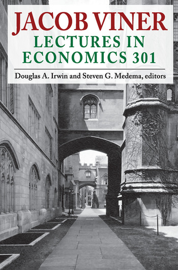 Jacob Viner Lectures in Economics 301 book cover