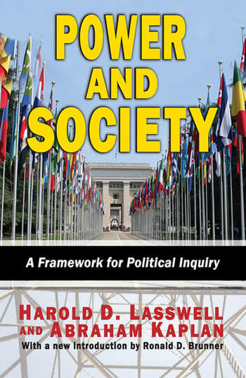Power and Society A Framework for Political Inquiry book cover