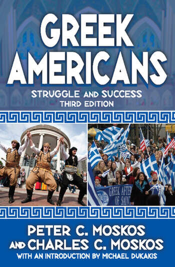 Greek Americans Struggle and Success book cover