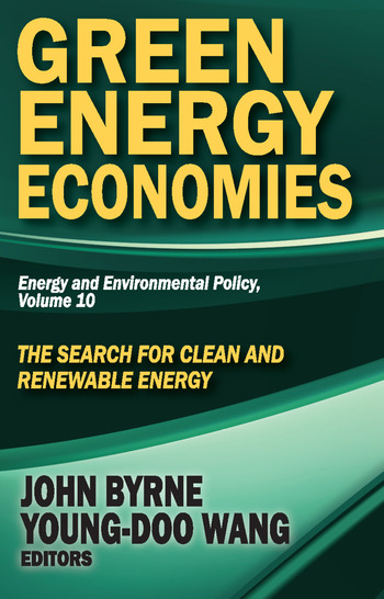 Green Energy Economies The Search for Clean and Renewable Energy book cover