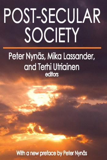 Post-Secular Society book cover