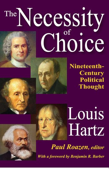 The Necessity of Choice Nineteenth Century Political Thought book cover