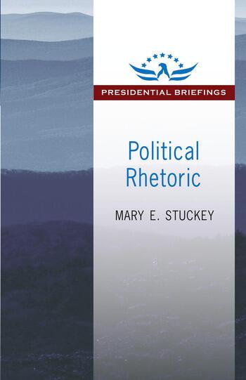 Political Rhetoric A Presidential Briefing Book book cover