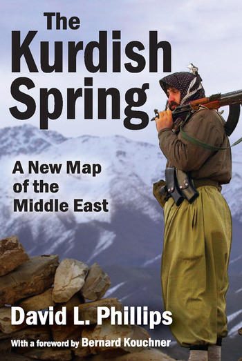 The Kurdish Spring A New Map of the Middle East book cover
