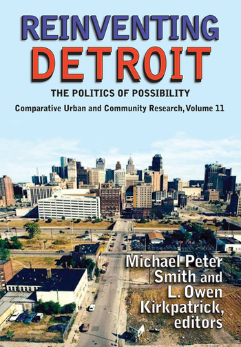 Reinventing Detroit The Politics of Possibility book cover