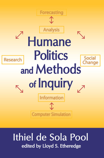 Humane Politics and Methods of Inquiry book cover