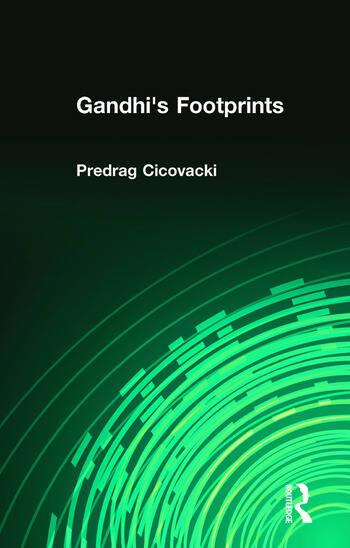 Gandhi's Footprints book cover