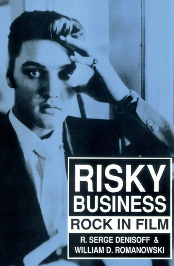 Risky Business Rock in Film book cover