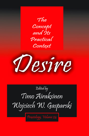 Desire The Concept and its Practical Context book cover