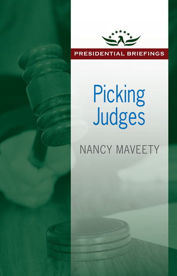 Picking Judges book cover