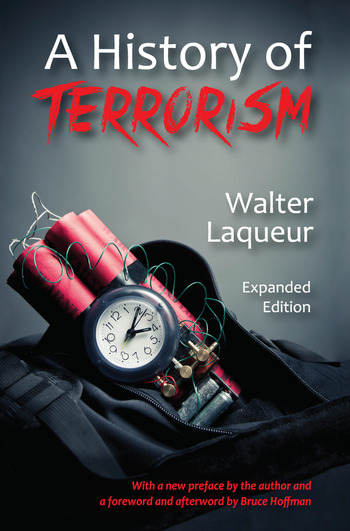 A History of Terrorism Expanded Edition book cover