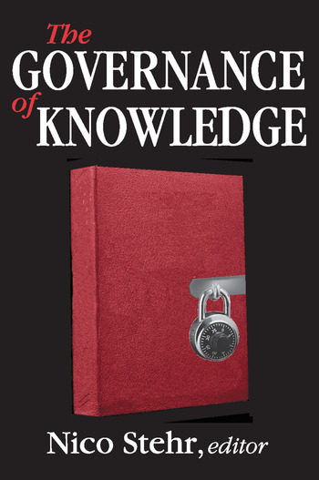 The Governance of Knowledge book cover
