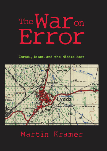 The War on Error Israel, Islam and the Middle East book cover