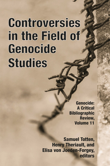 Controversies in the Field of Genocide Studies book cover