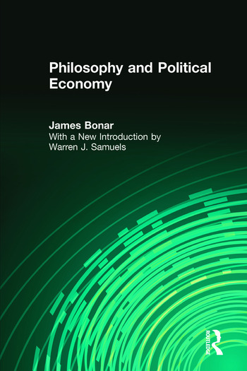 Philosophy and Political Economy book cover