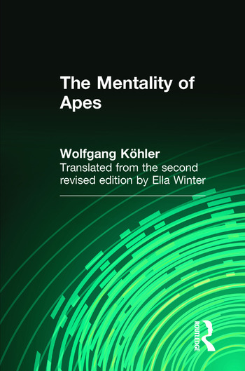 The Mentality of Apes book cover