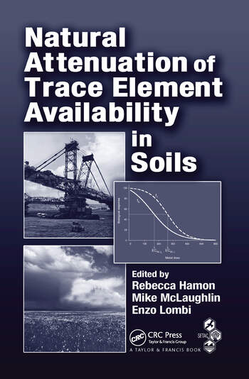 Natural Attenuation of Trace Element Availability in Soils book cover