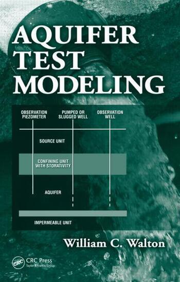 Aquifer Test Modeling book cover