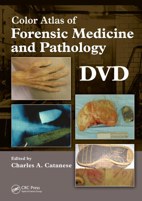 Color Atlas of Forensic Medicine and Pathology, DVD book cover