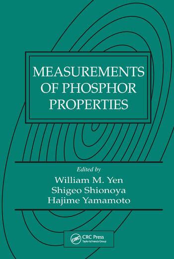 Measurements of Phosphor Properties book cover