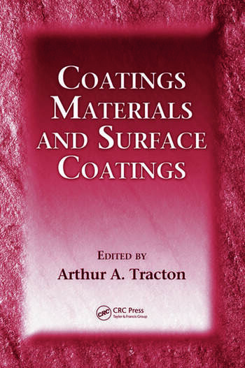 Coatings Materials and Surface Coatings book cover
