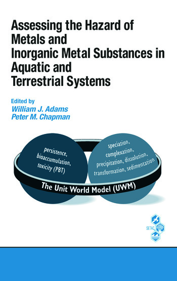 Assessing the Hazard of Metals and Inorganic Metal Substances in Aquatic and Terrestrial Systems book cover