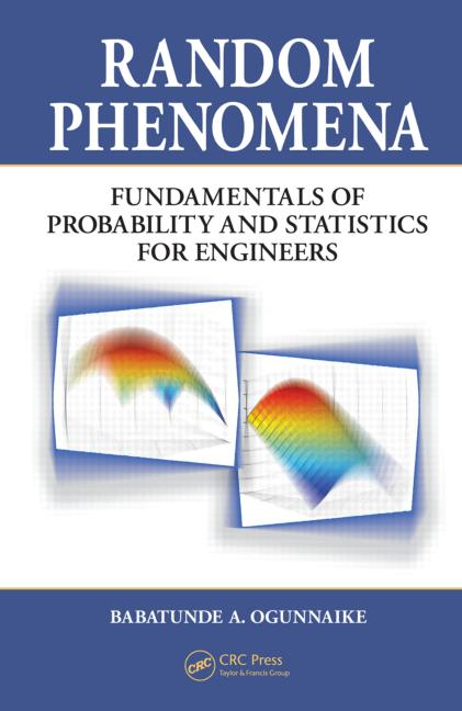 Random Phenomena Fundamentals of Probability and Statistics for Engineers book cover