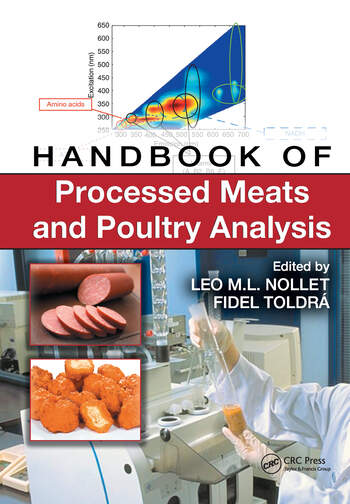 Handbook of Processed Meats and Poultry Analysis book cover