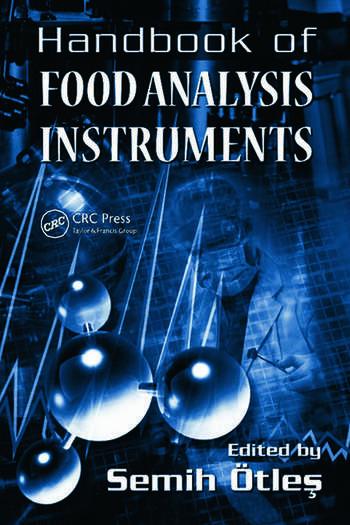 Handbook of Food Analysis Instruments book cover