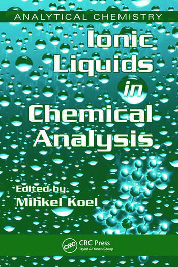 Ionic Liquids in Chemical Analysis book cover