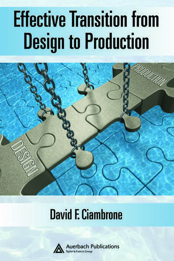 Effective Transition from Design to Production book cover