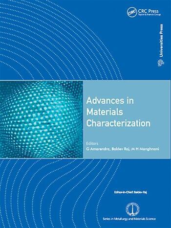Advances in Materials Characterization book cover